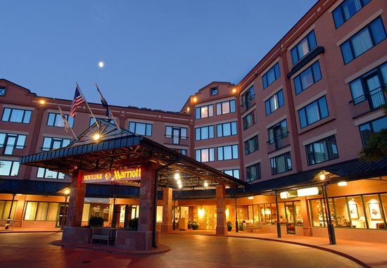 Boulder Marriott: Entrance