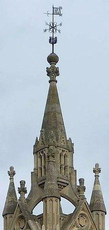 Surbiton, UK: La torre, dettaglio