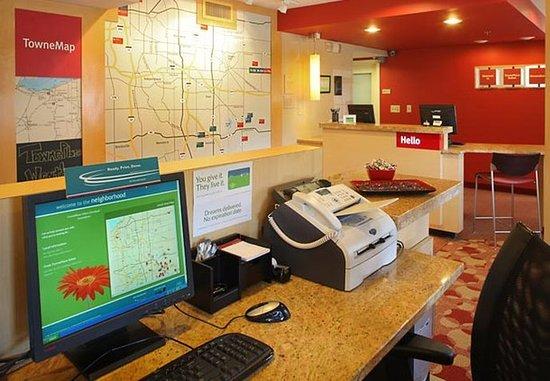 Streetsboro, OH: Lobby & TowneMap