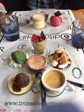 Ferrieres-en-Brie, Γαλλία: Le café gourmand