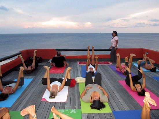 Kralendijk, Bonaire: Yoga Event at El PUEBLO VILLAS