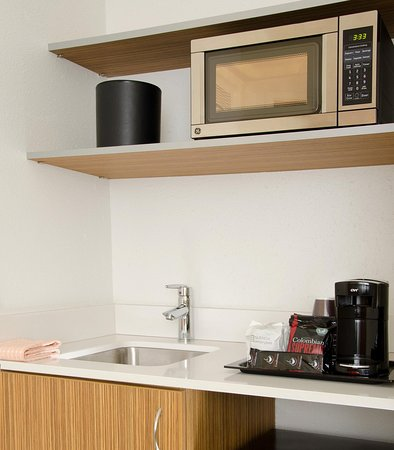 บริดจ์ตัน, มิสซูรี่: Suite Kitchenette