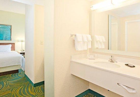 West Mifflin, Пенсильвания: Suite Bathroom