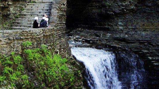Horseheads, Estado de Nueva York: World Famous Watkins Glen State Park Gorge