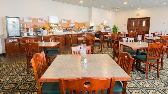 Horseheads, NY: Breakfast Area