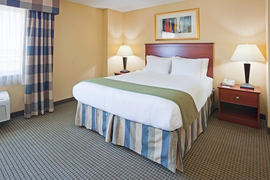 Holiday Inn Express Vadnais Heights: King Bed Guest Room