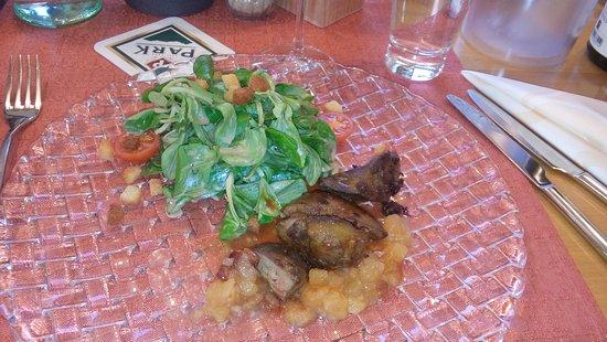 Landstuhl, Germany: Feldsalat mit Gänseleber