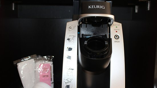 Troy, OH: We have Keurig's in all of our Guests rooms.