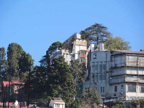 Hotel Mayur View From Lower Shimla