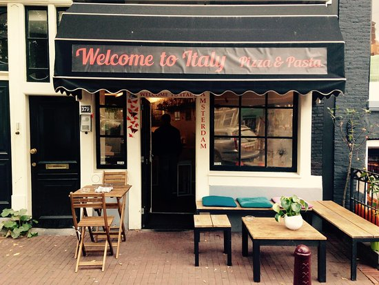 Welcome To Italy Pasta Pizza Amsterdam Centrum