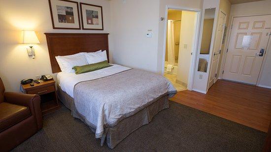 Candlewood Suites Joplin Hotel : Single Bed Guest Room