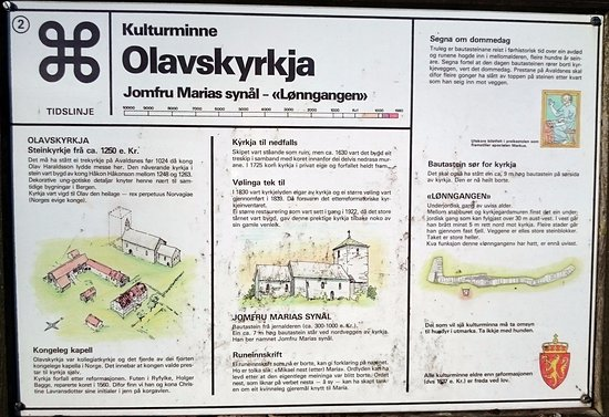 Avaldsnes, Norwegia: Information about the church