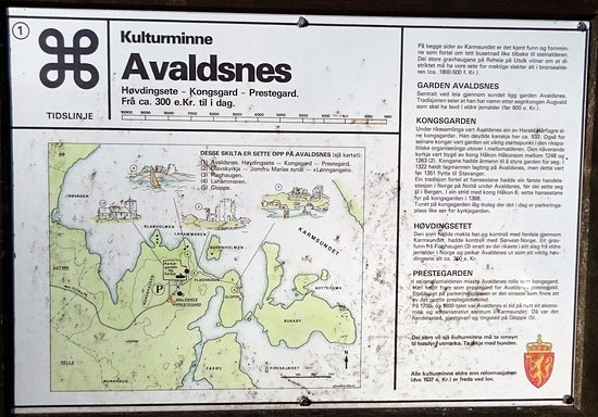 Karmoey Kulturopplevelser : Map of the area