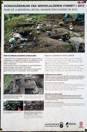 Karmoey Kulturopplevelser : From the excavations