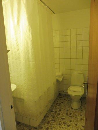 Saga Hotel: bagno in camera