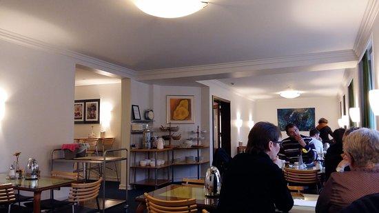 Saga Hotel: sala colazione