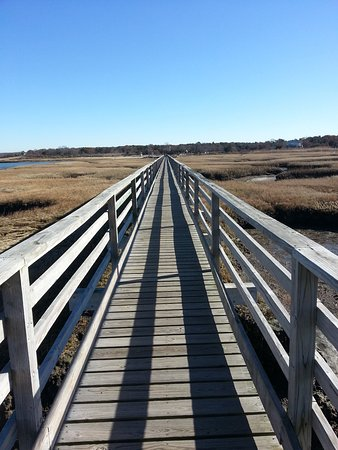 Yarmouth, Массачусетс: Bass Hole Boardwalk