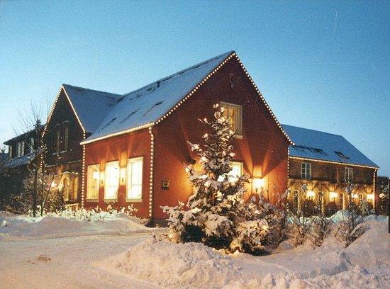 Niemegk, Deutschland: Landhaus in winter