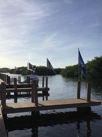 Matlacha, FL: Dusk at the restaurant