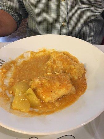 Vallirana, España: Carta de menú diario