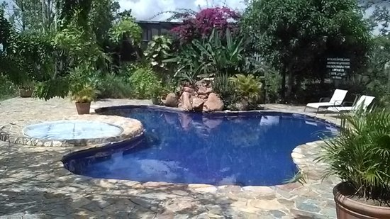 Hidden Valley Inn: pool and jacuzzi