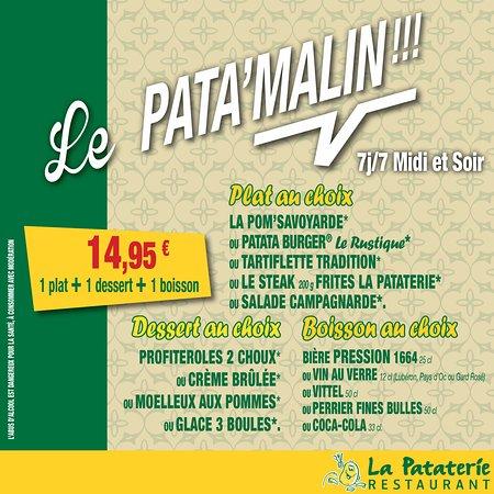 Joue-les-Tours, Frankrike: Un menu sympa et pas cher...