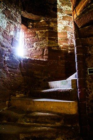 Edzell Castle: stairwell