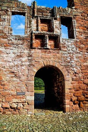 Edzell Castle: Entrance
