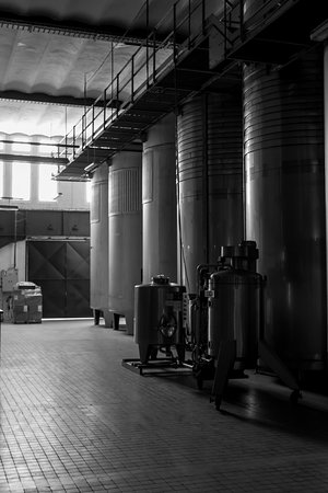 Maine et Loire, France: Wine vats