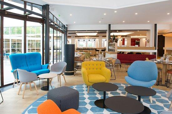 Bougival, France: lounge