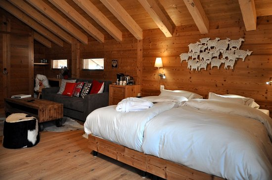 Champery, Schweiz: Junior Suite