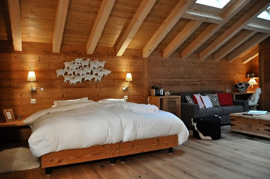 Champery, Switzerland: Junior Suite Deluxe