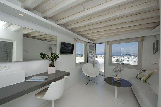 Semeli Hotel: The Semeli Suite Panoramic Vie
