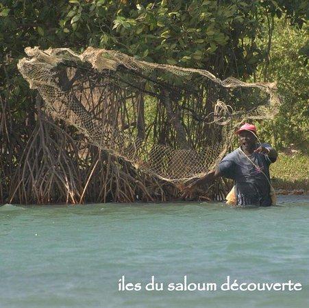 Fimela, Sénégal : découverte peche a l'épernier sine saloum