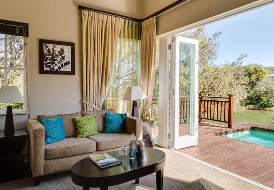 Magaliesburg, Güney Afrika: Villa - Living Area