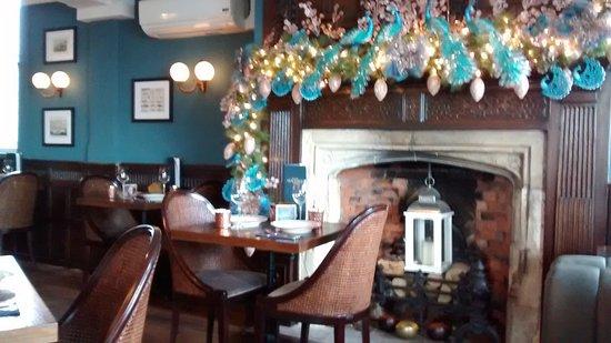 Aldeburgh, UK: Preparing for Christmas - interior shot.