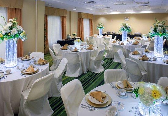 Cartersville, جورجيا: Etowah Room – Banquet Setup