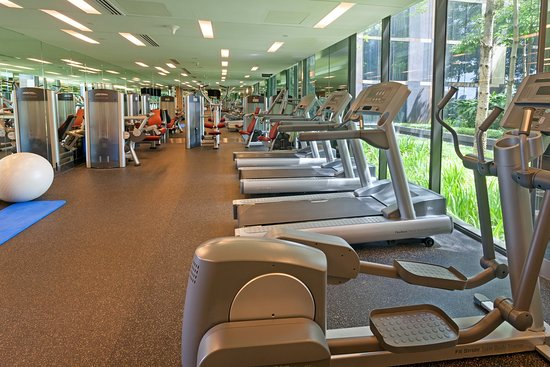 Crowne Plaza Changi Airport: Fitness Center