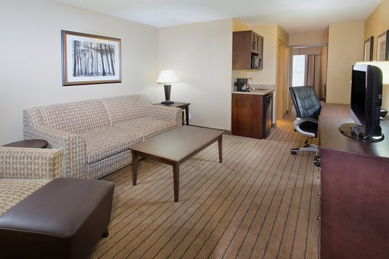 Courtenay, Canadá: King Executive Suite living area