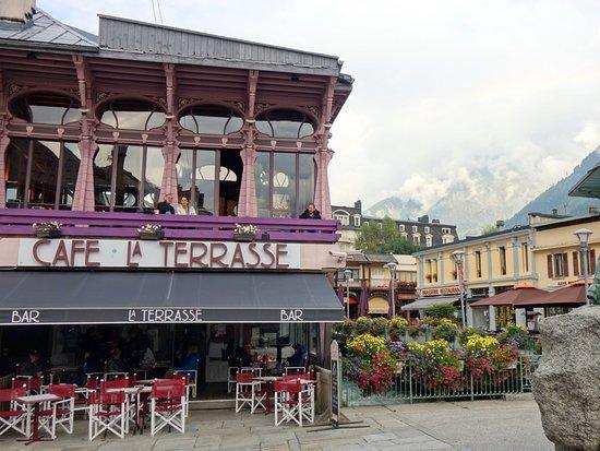 Cafe La Terrasse Chamonix