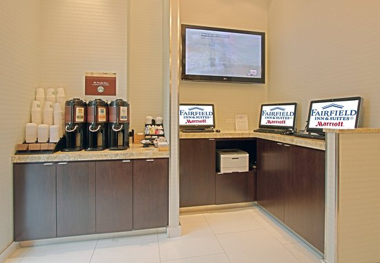 Fairfield Inn & Suites New York Manhattan/Times Square: Business Center