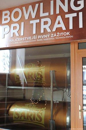 Presov, Slovakia: tankové pivo v ponuke rešaturácie