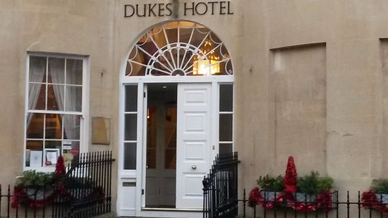 Dukes Hotel Bath Parking