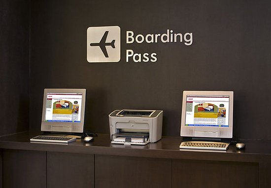 Campbell, CA: Boarding Pass Station