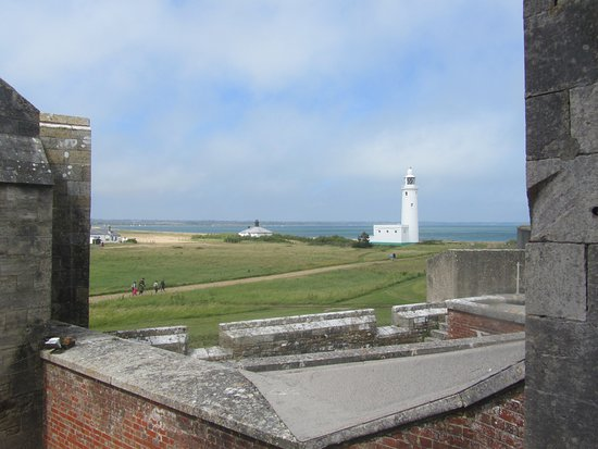Milford on Sea, UK: view from one of the towers