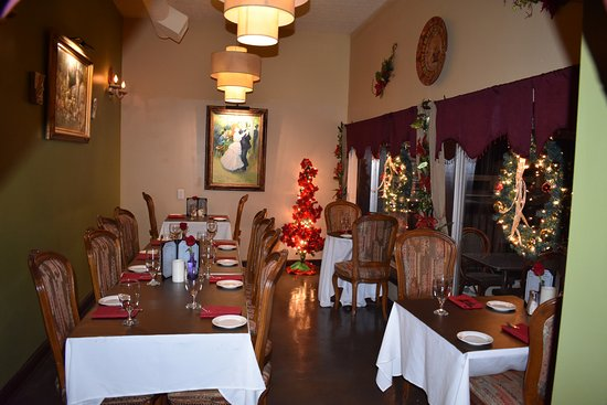 Jeffersonville, IN: Private dining room, will accommodate up to 20 guests.