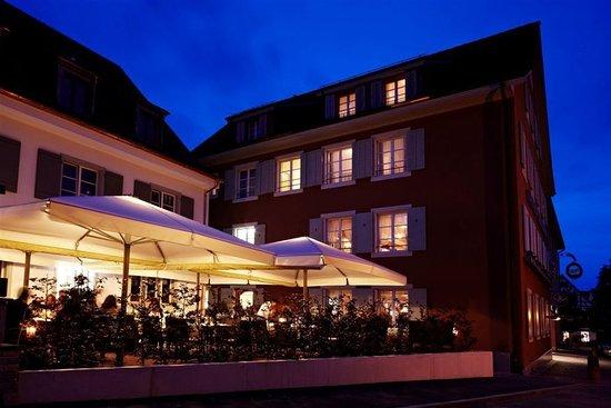 Arlesheim, Switzerland: At night