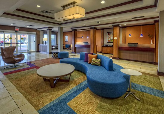 Fairfield Inn & Suites Oklahoma City NW Expressway/Warr Acres: Lobby