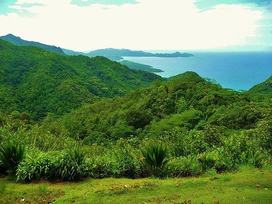 Vitória, Ilhas Seychelles: panorama à Mahé