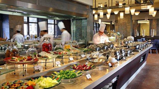 Pyeongchang-gun, Korea Selatan: Buffet- Flavours